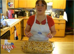 Deviled Pecan Honey Cornbread Dressing with Ruby Jewel Sweet Red Corn Part 3