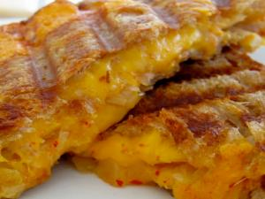 Gourmet Grilled Cheese Sandwich for Adults