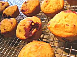 Low Fat Corn Raspberry Muffin