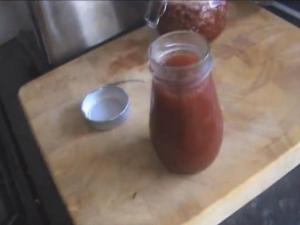 Homemade Rhubarb & Strawberry Jam