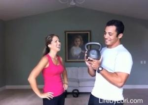 Day 5 Fitness Challenge: Kettlebells