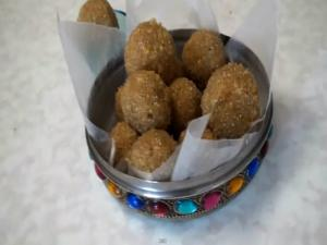 Churma Laddu - Ganesh Chaturthi - Indian