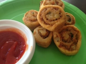 Party Spirals (How to Make Potato Pinwheels)