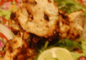 Murg Malai Basil Kebab