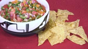 Rainbow Corn Salsa