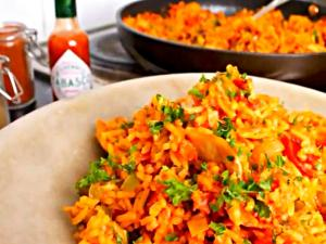 Legendry Tabasco Jambalaya with Honey and Orange