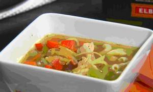 Classy Turkey Mac Soup