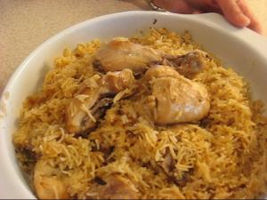 Indian Chicken Pulao
