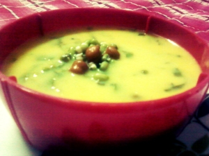 Protein Rich Sprout Kadhi