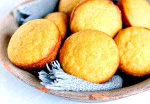 Quick Cornmeal Muffins