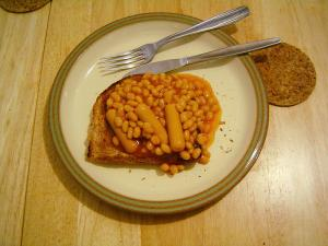 Baked Beans with Sausage