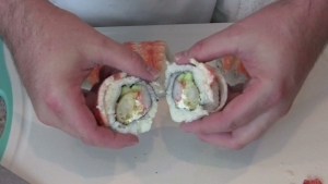 How to Make Shrimp Tempura Sushi Rolls