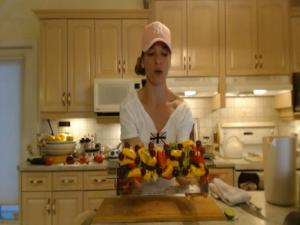 How to Make Skewered Fruit Salad: Cooking with Kimberly