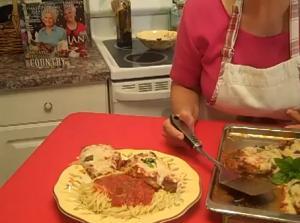 Chicken Parmigiana by Rosalie Fiorino Harpole