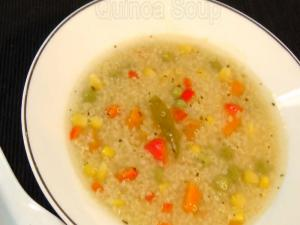 Quinoa Soup - Healthy Soup