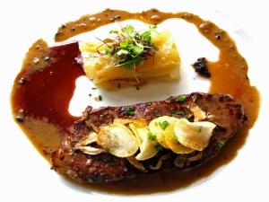 Chef Michael Does Steak Au Poivre Healthul Version
