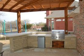 Beautiful outdoor kitchen