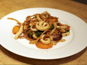 Stir Fried Squid