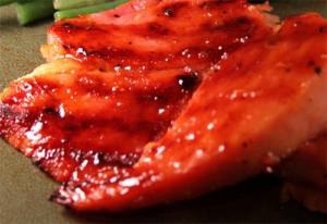 Apricot-Glazed Lamb Steaks
