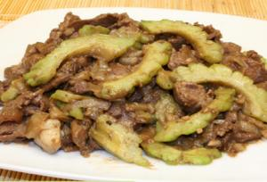 Beef Ampalaya  With Oyster Sauce