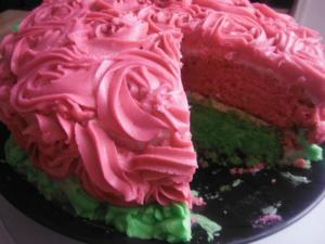 Mother's Day Rose Butter Cake