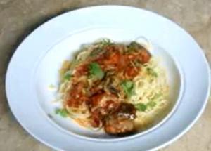 Sardines Spaghetti Pasta