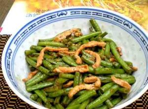 Southern-Style Fresh Pole Beans