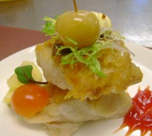 Grilled Red Snapper With spicy Chutney