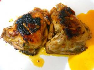 Butter Broiled Herb Chicken