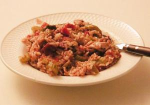 Chicken Jambalaya With Tomatoes