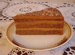 Rich Walnut Torte