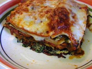 Three Cheese Vegetable Lasagna