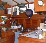 Use maximum space in your boat galley to cook like a pro