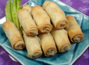 Lebanese Meat Rolls