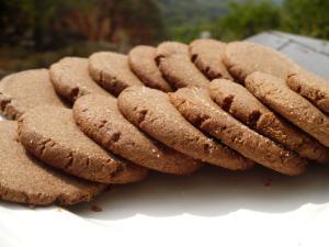 Teff Peanut Butter Cookies