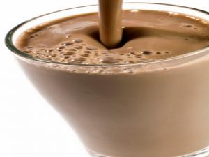 """Chocolate"" Smoothie With A Twist"