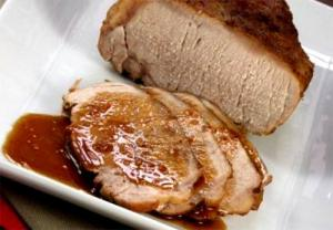 Glazed Pork Loin Roast