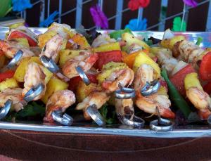 Shrimp En Brochette