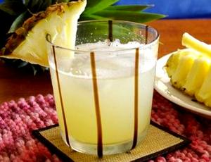 Pineapple and strawberry Cocktail