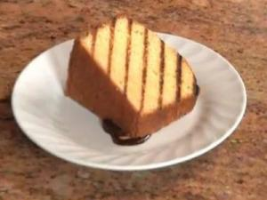 A Viewer's Recipe! Easy Pound Cake.That Ended Up on the Grill (Cooking with Carolyn)