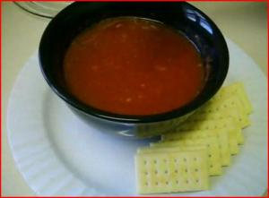 Solar Cooked Simple Tomato Soup