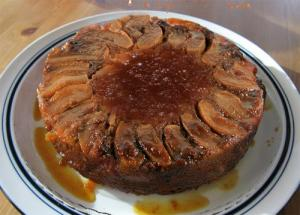 Gingerbread Upside Down Cake