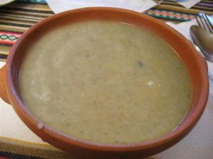 Kohlrabi Soup