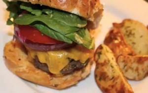 Classic Cheddar Burger