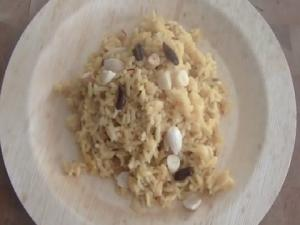 Meethe Chawal (Punjabi Style Sweet Rice) : Search for FoodTube Star Entry