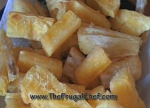 Simple Fried and Seasoned Yucca
