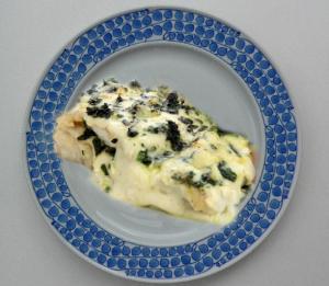 Fish Florentine Casserole