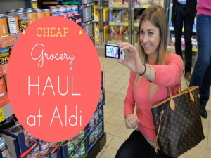 Shopping at ALDI - America's Best Grocery Store