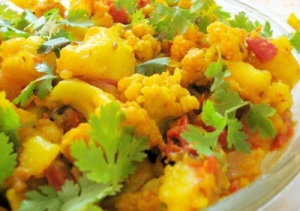 Spicy Gobi Adraki