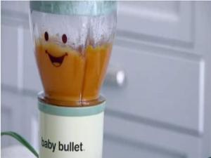 Baby Bullet Recipes: Spiced Carrot Cauliflower Puree - Weelicious
